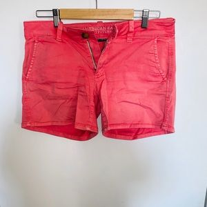 American Eagle Coral Shorts